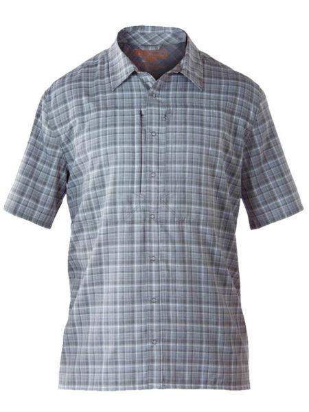 Propper Covert Button-Up Short Sleeve Shirt Security Mens Patrol Mallard Plaid